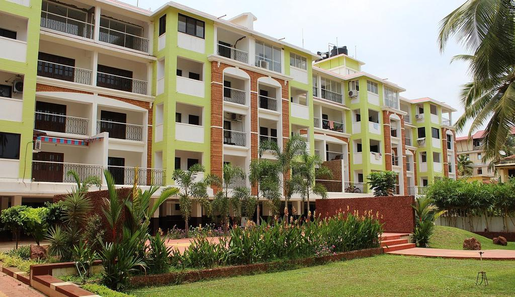 White Sun Apartments By Gtc in Candolim