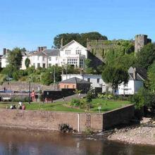 Brecon Castle in Bronllys