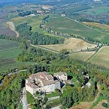 Castello di Monteliscai in Rosennano