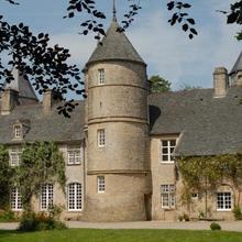 Chateau de Flottemanville in Morville
