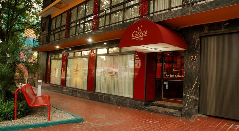 Hotel El Greco in Mexico City
