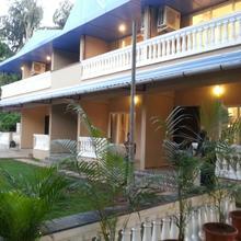 The blue roof seaside in Umbar Pada Nandade