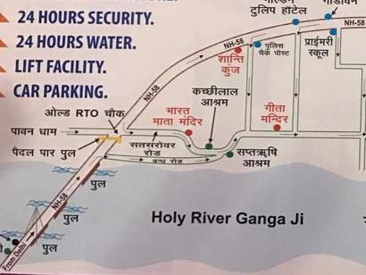300 mtrs from Gangaji in Rāiwāla