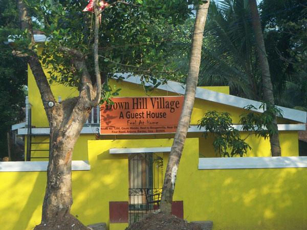 Down Hill Village in goa