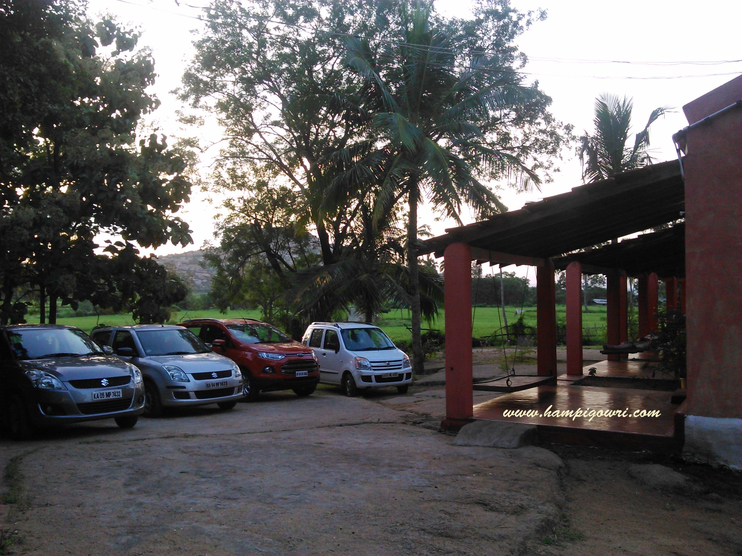 Gowri Resort in hampi