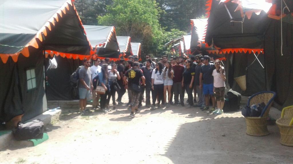 Parvati camps kasol in Kasol