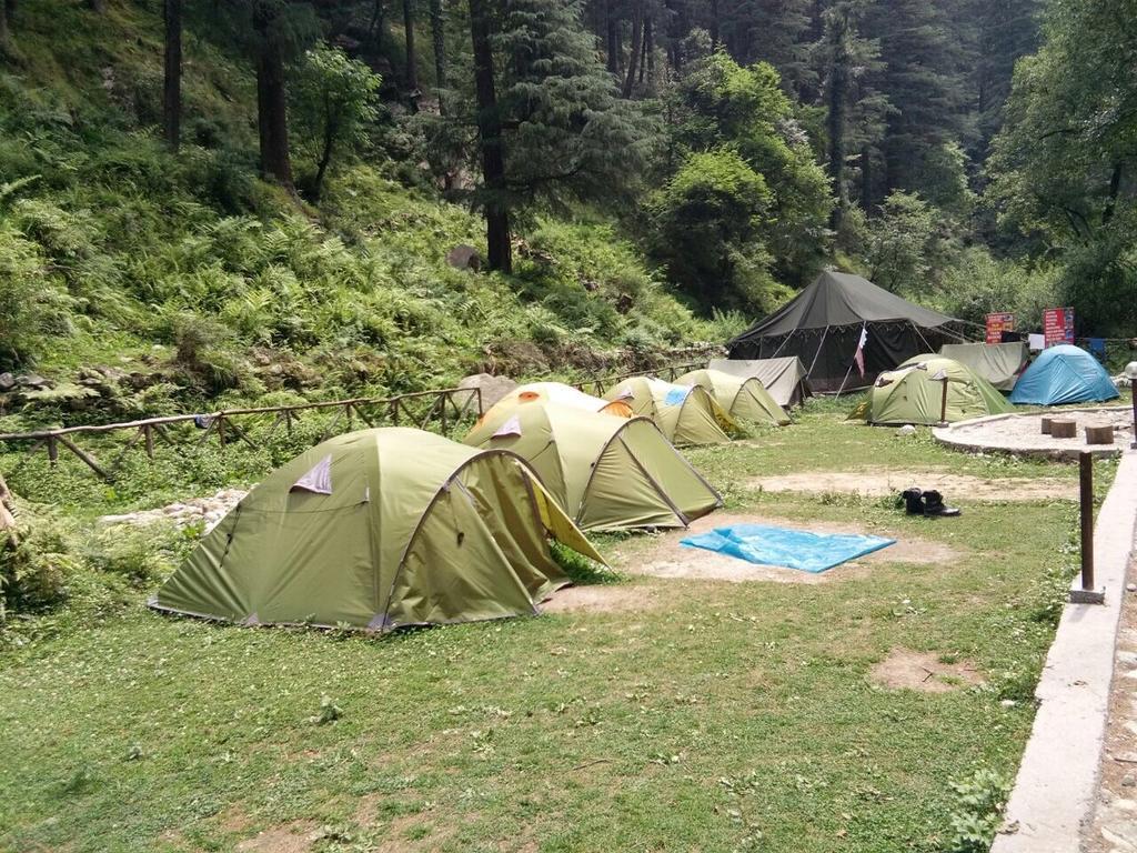 River Site Camps (Himtrek's Base Camp) in Kasol