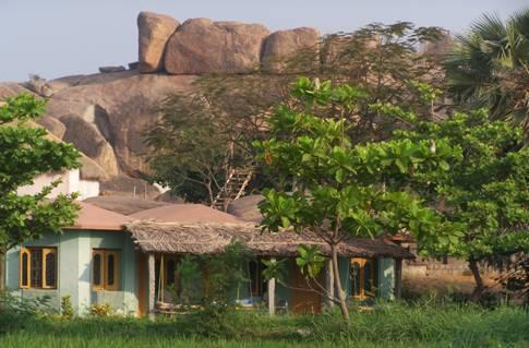 Laxmi Golden Beach Resort in hampi
