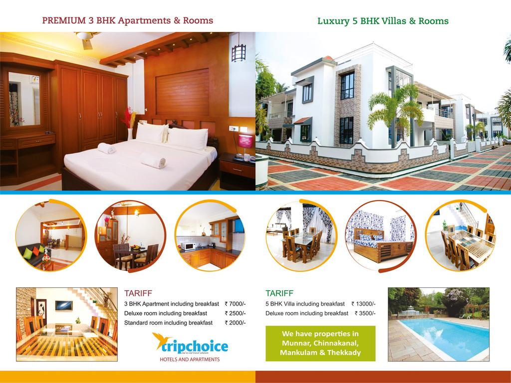 Tripchoice Hotels And Apartments in Cochin
