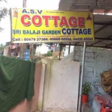 A S V Cottage in Ooty