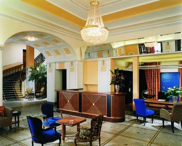 Art Deco Hotel Montana in Immensee