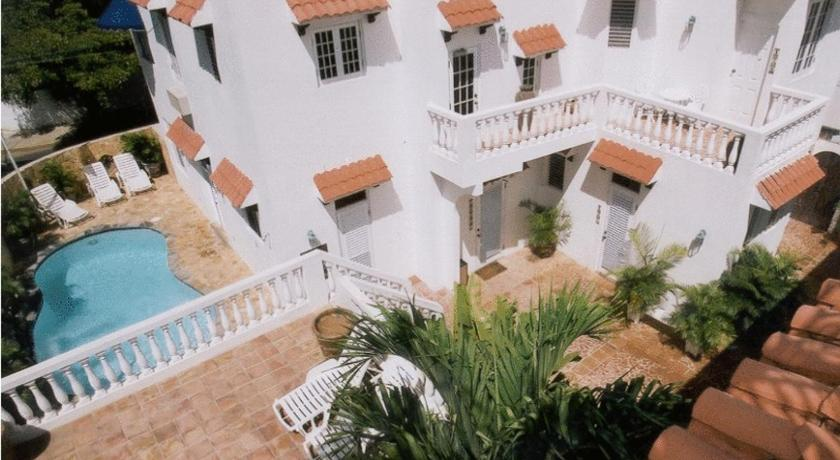 At Wind Chimes Boutique Hotel in San Juan