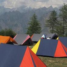 Auli Adventure Camp in Ghangaria