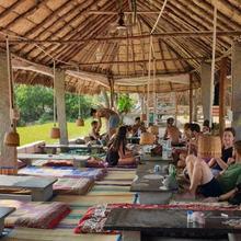Baba Cafe Resort Hampi in Vidhyanagara