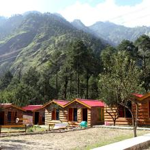 Brick and Wood Cottages in Kasol