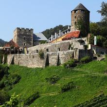 Burg Deutschlandsberg in Koberegg