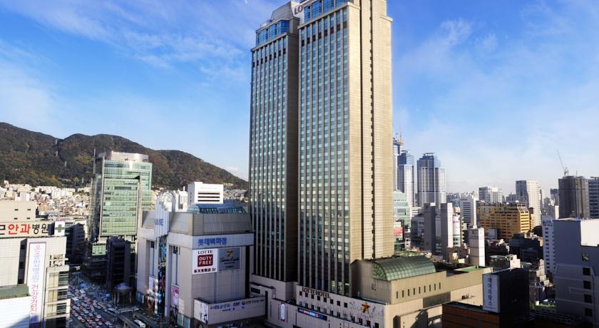 Busan Lotte Hotel in Pusan