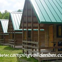 Camping Vall de Ribes in Planoles
