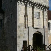 Chateau-Monastère de La Corroirie in Montresor