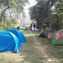 Chinnas Camping Area in Hampi