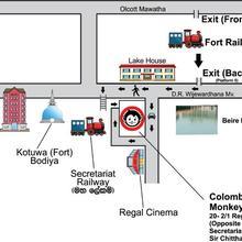 Colombo Downtown Monkey Backpackers Hostel in Colombo