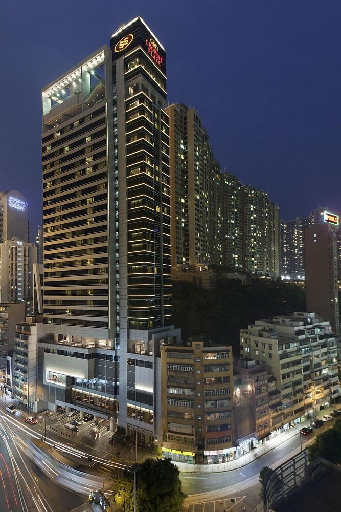 Crowne Plaza Hong Kong Causeway Bay in Kowloon