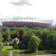 Dedek Park in Warsaw