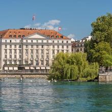 Four Seasons Hotel Des Bergues Geneva in Geneve