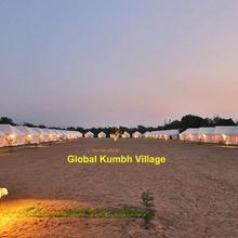 Global Kumbh Village in Lukerganj