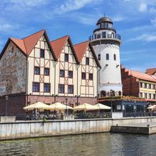 Honey Bridge Hotel in Kaliningrad