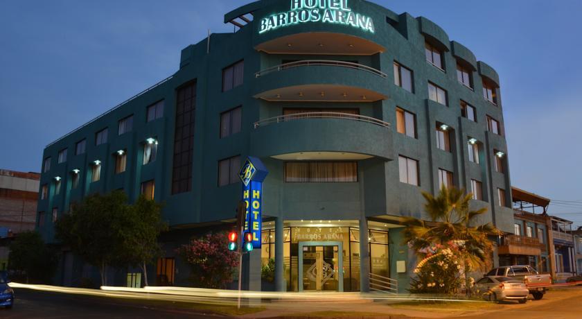 Hotel Barros Arana in Iquique