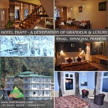 Hotel Ekant in Chail