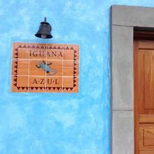 Iguana Azul in Copan