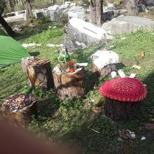 Inwoods cafe in Kasol