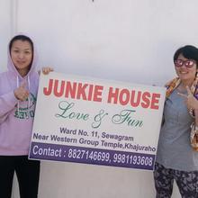 Junkie House in Khajuraho
