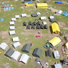 Khirganga Trekking Camps in Chhorang
