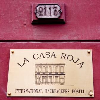 La Casa Roja in Santiago