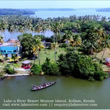Lake N River Resort Munroe Island in Ashtamudi
