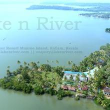 Lake N River Resort Munroe Island in Perinad