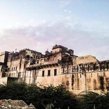 Narayan Niwas Castle in Churu