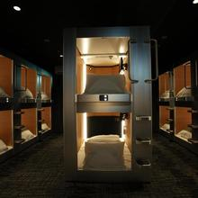 New Japan Capsule Hotel Cabana (male Only) in Osaka