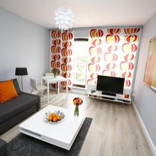 Orange Apartment in Wroclaw