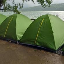 Pavana Lake Touch Camping in Karjat