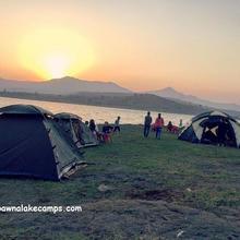 Pawna Lake Camps in Ambavna