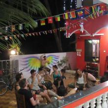 Rainbow Lining Hostels in Patnem