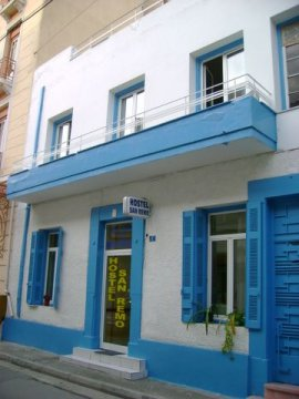 San Remo Hostel in Athens