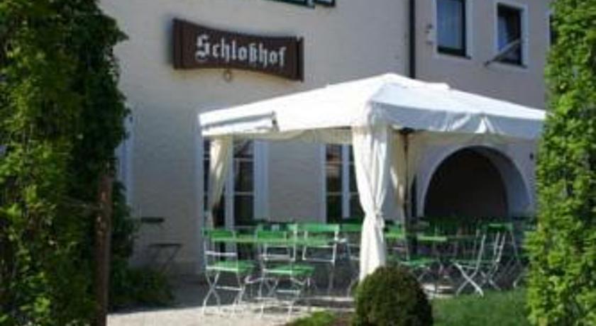 Schlosshof anno 1743 in Geisenfeld