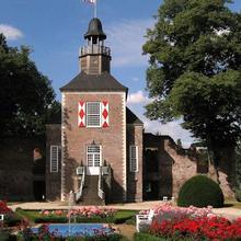 Schlossruine Hertefeld in Knikkerdorp