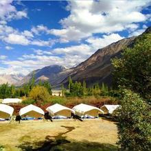 Shyok Camp in Hundar