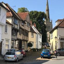 Stoney Lane in Thaxted
